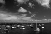 Boats in the Bay, Monterey, CA, 2014